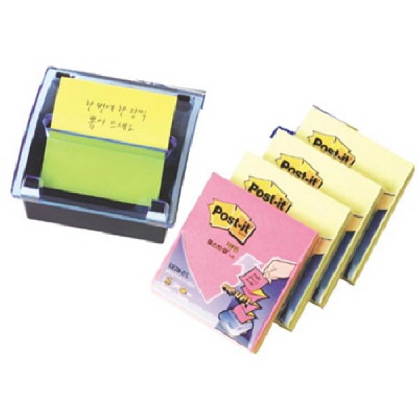 3M 포스트잇 DS-330 팝업 디스펜서 /크리스탈디스펜서 DS330